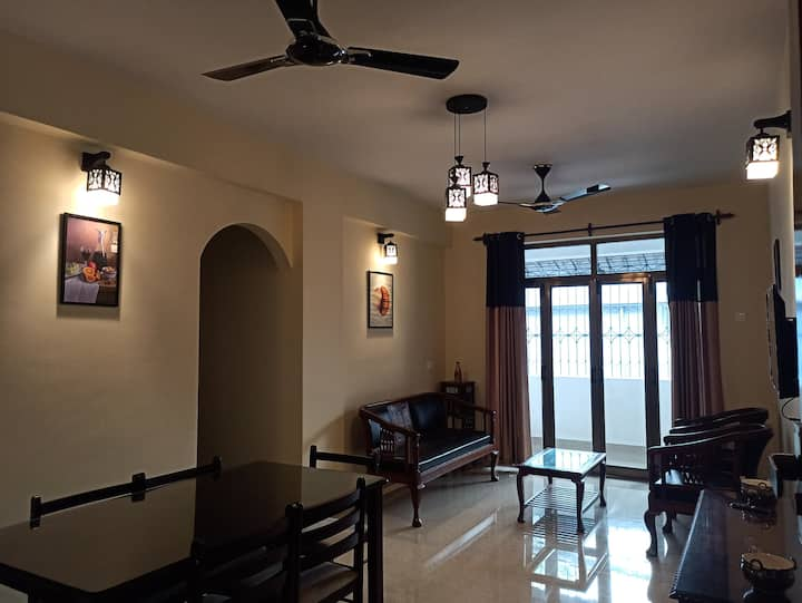2BHK Deluxe Apartment near Benaulim Beach