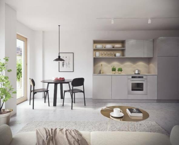 LUXURY TOWNHOUSE IN CITY 85M2+TERASSE - Stoccolma - Condominio