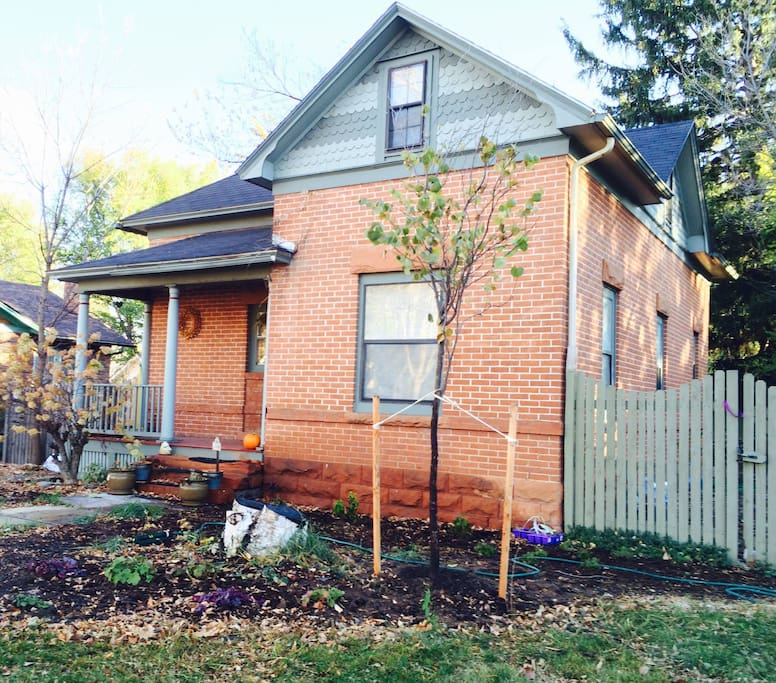 Two story brick Victorian blocks from CSU and so close to downtown.