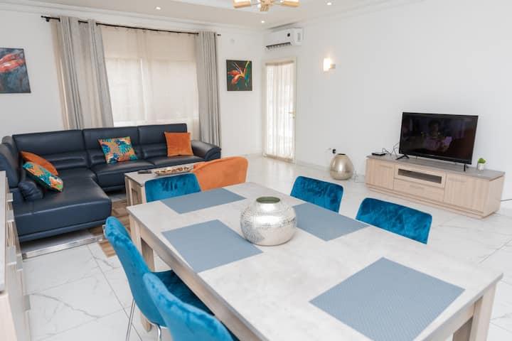 Appartement lumineux, spacieux et moderne
