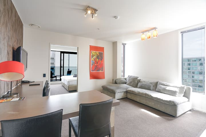 Auckland CBD 2 Bedroom Apartment