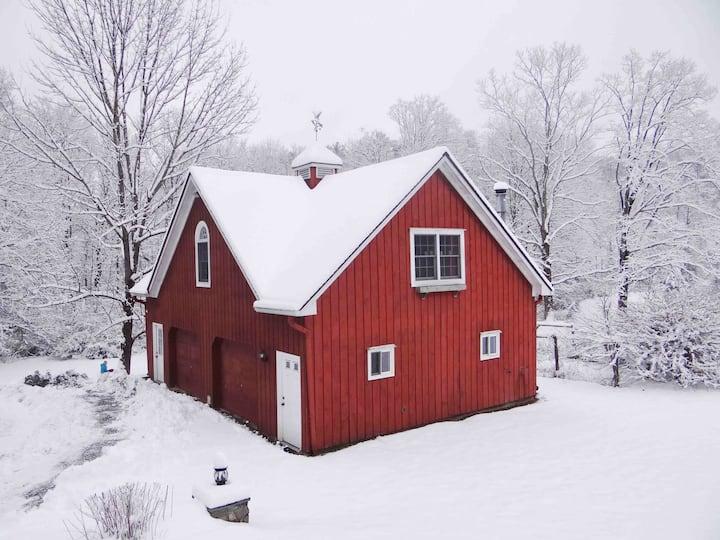 White winter magic @ the Red Barn