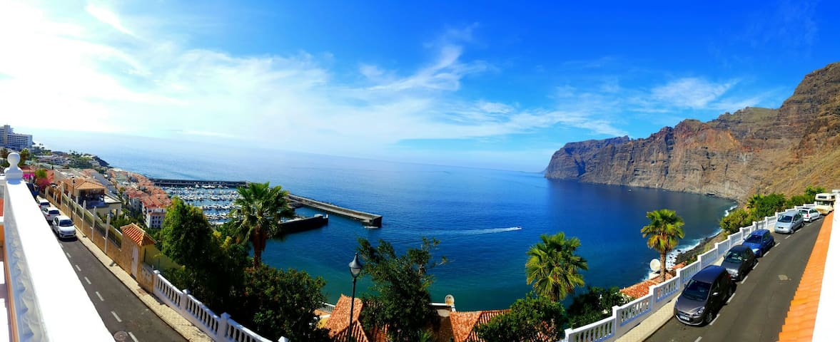 GREAT APARTMENT WITH STUNNING VIEWS - 桑蒂亞戈德爾泰德(Santiago del Teide)