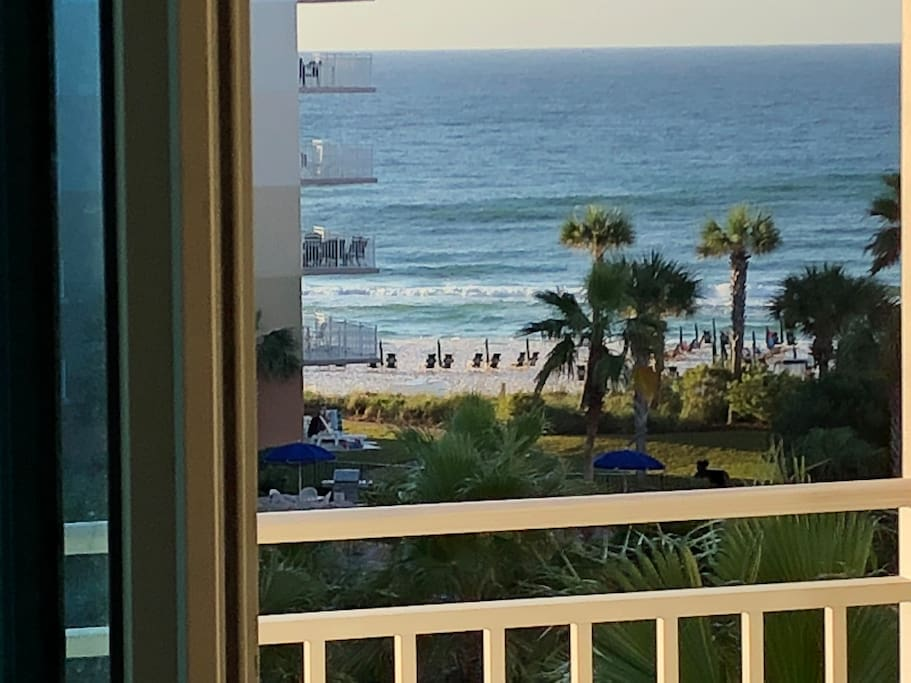 We are the closest 1 bedroom to the beach! With both ocean and courtyard views. Easily accessible from B side central elevators.