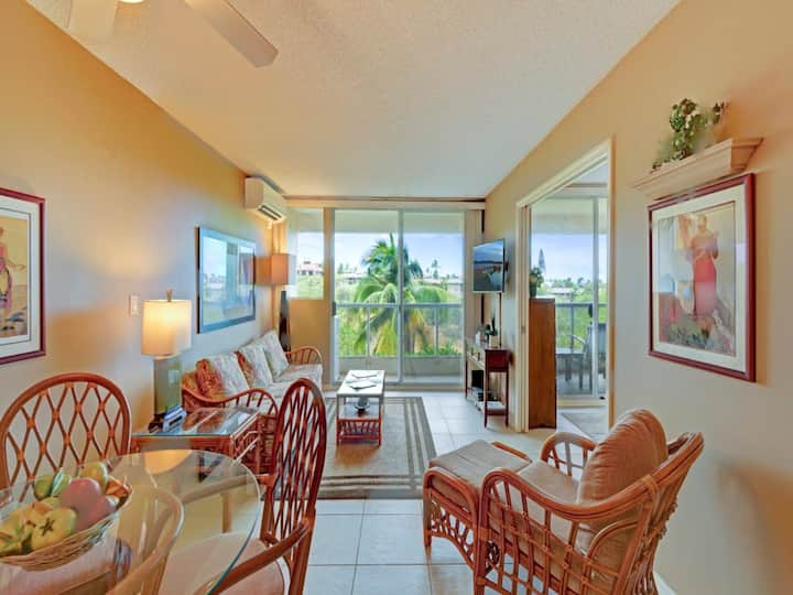 Kamaole 1Bed/2Bath w/AC, Full Kitchen, WiFi, Laundry