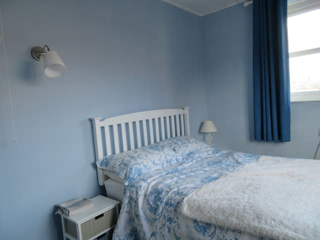 Bedroom 2: Double Bed; lovely bright quite room.