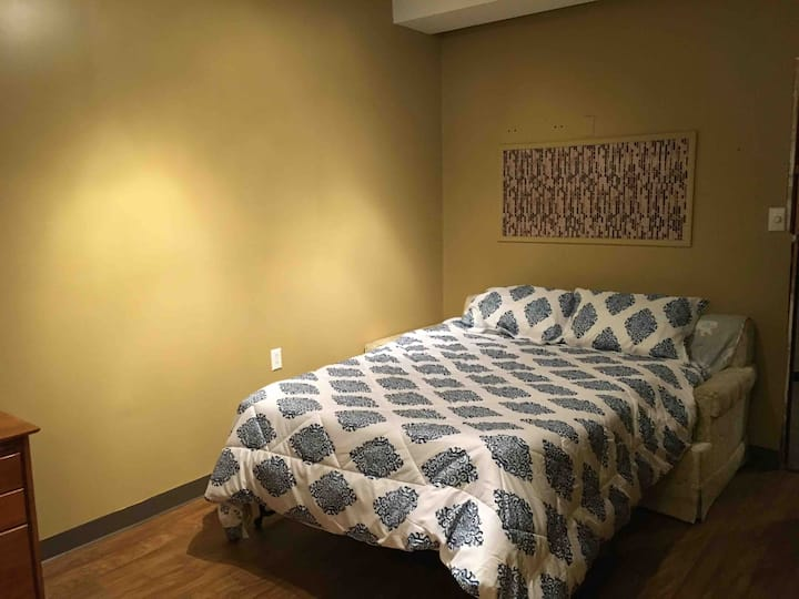 PeaceHouse Lower Level Bedroom