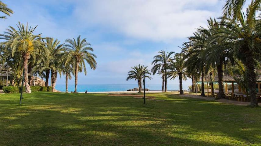 Beachfront apartment La Villajoyosa - Alicante - Apartemen