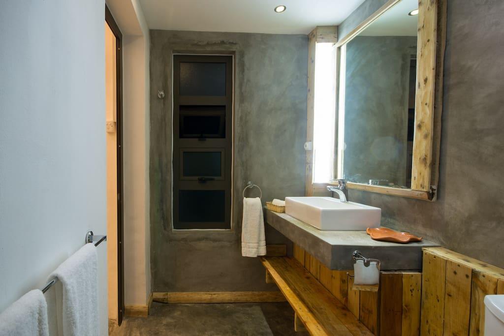 Bathrooms view