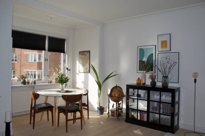 Bright apartment in the center of Aarhus