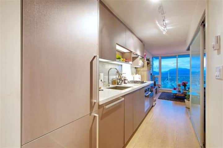 Surrey Central Apartment with a view