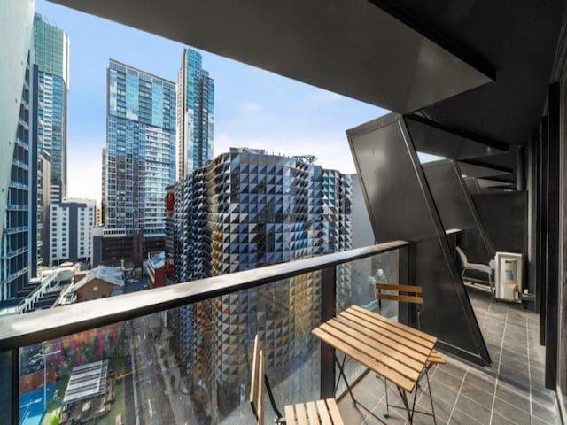 #Melbourne Central# CBD 1BR Apartment