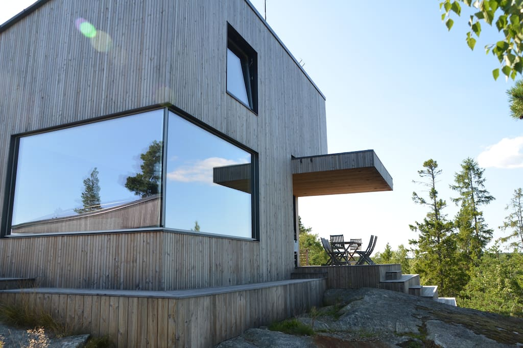 Architectural house in stockholm archipelago maisons for Maison stockholm