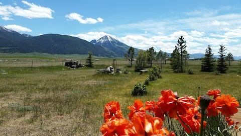 Chico Peak Kabine nr Yellowstone/Chico Hot Springs