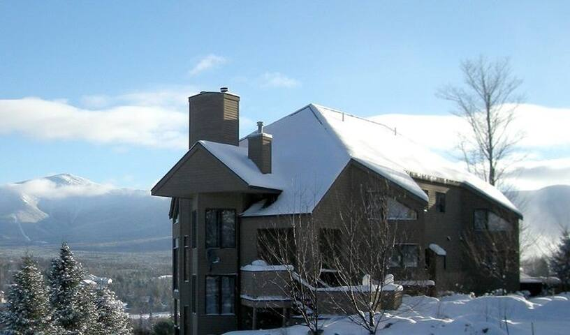 Trailside at Bretton Woods: townhome with great views, AC, shuttle, and more! FREE LIFT TICKETS!!!