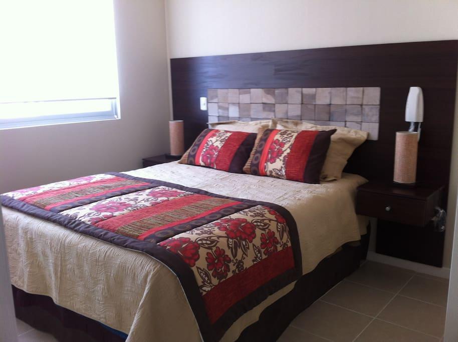 dormitorio matrimonial en suite