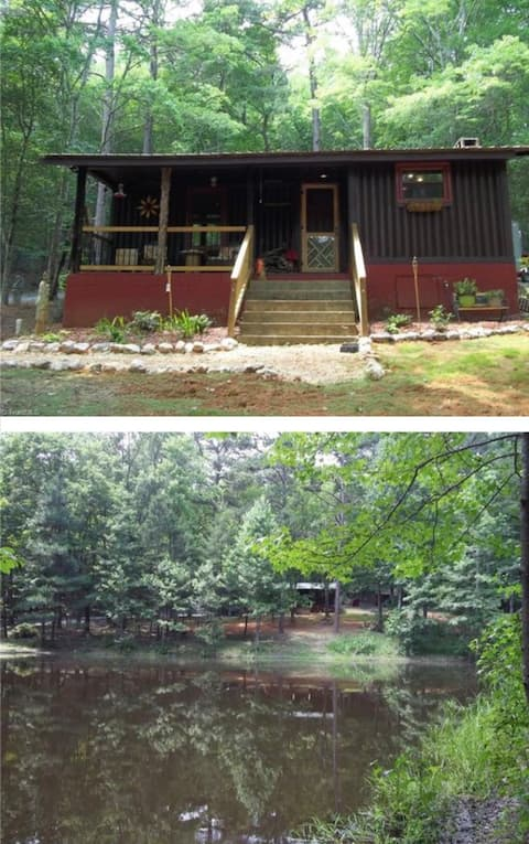 Private Cabin IN Uwharrie Forest Asheboro Area