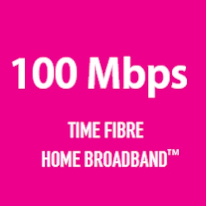 UNLIMITED DATA WITH 100Mbps HIGH SPEED INTERNET