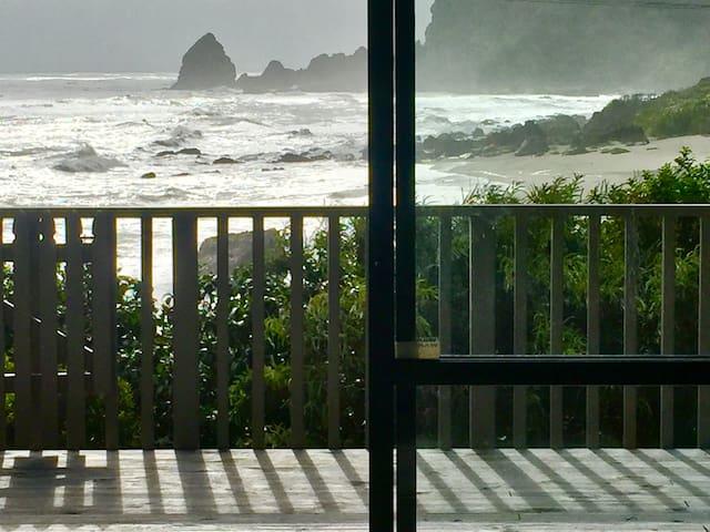 Sunny and stormy at Waituhi
