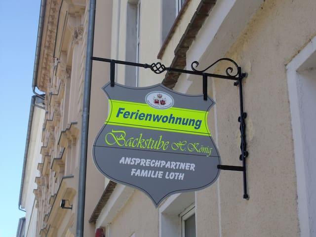 """Ferienwohnung """"Alte Backstube"""" in Innenstadt - Brandenburg an der Havel - Apartamento"""