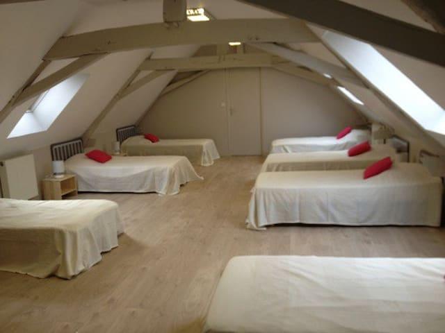 Dortoir avec salle de bain - Villiers-Charlemagne - Dorm