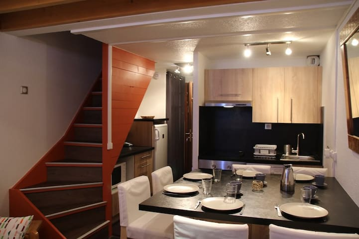 Val Thorens Silveralp 45 m2 ideal for 6 persons