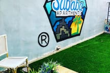 !!Designed studio with garden! Dizengoff center