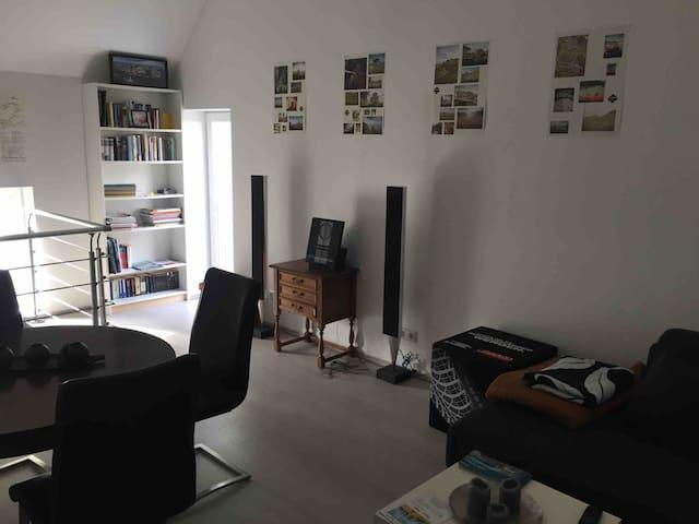 Charmante, moderne Wohnung in Fachwerkscheune