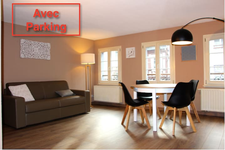 Hypercentre avec parking - Colmar - Apartamento