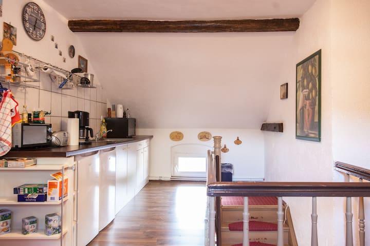 Pension Riel - Seegebiet Mansfelder Land Ortsteil Stedten - Apartment