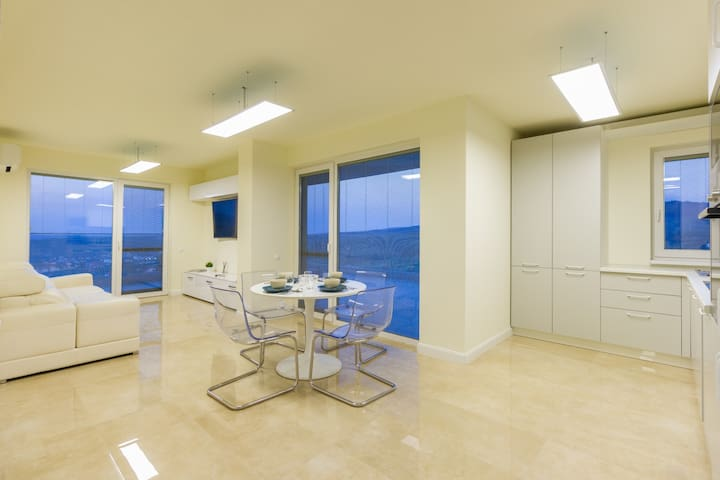 Hill View Penthouse
