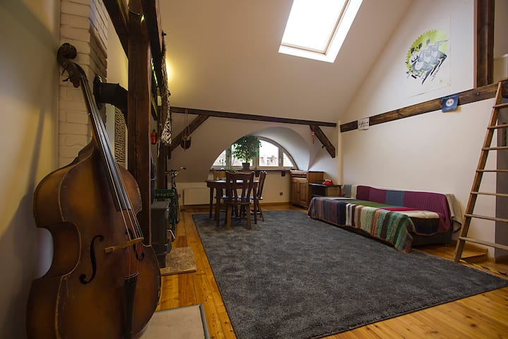 cosy and artistic loft