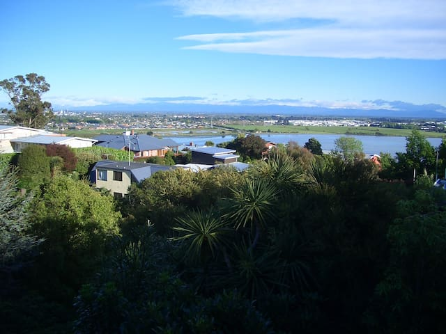 Bush Haven - peaceful, newly built hillside unit - Christchurch - Pension