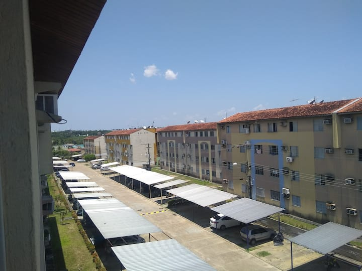 Quarto em condomínio - No Distrito Industrial