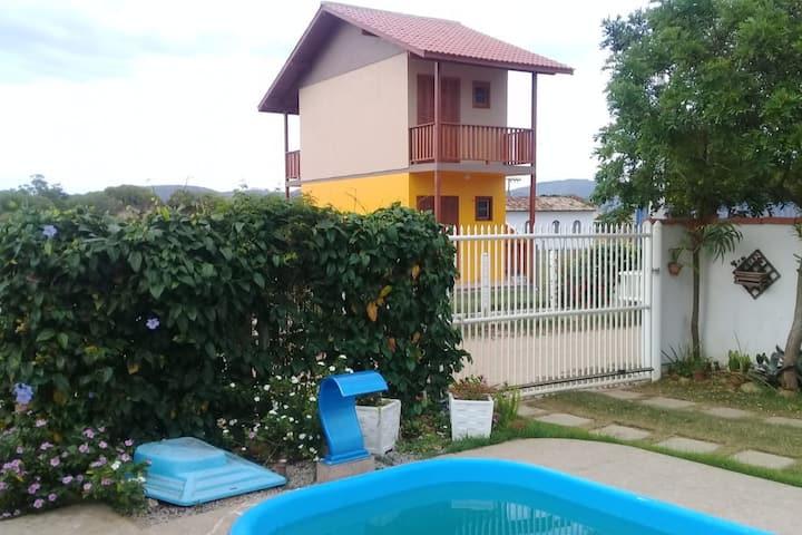 Hospedagem da Lagoa 1- Com piscina-Imbituba SC