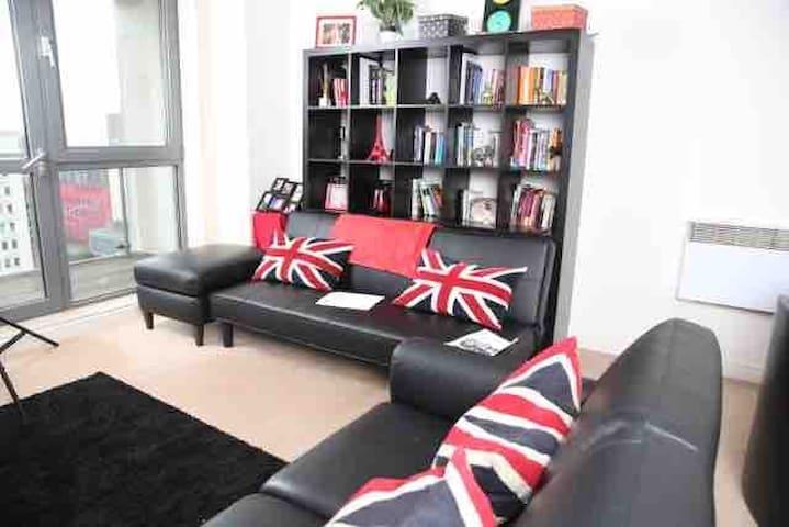 Luxury city centre Birmingham apartment