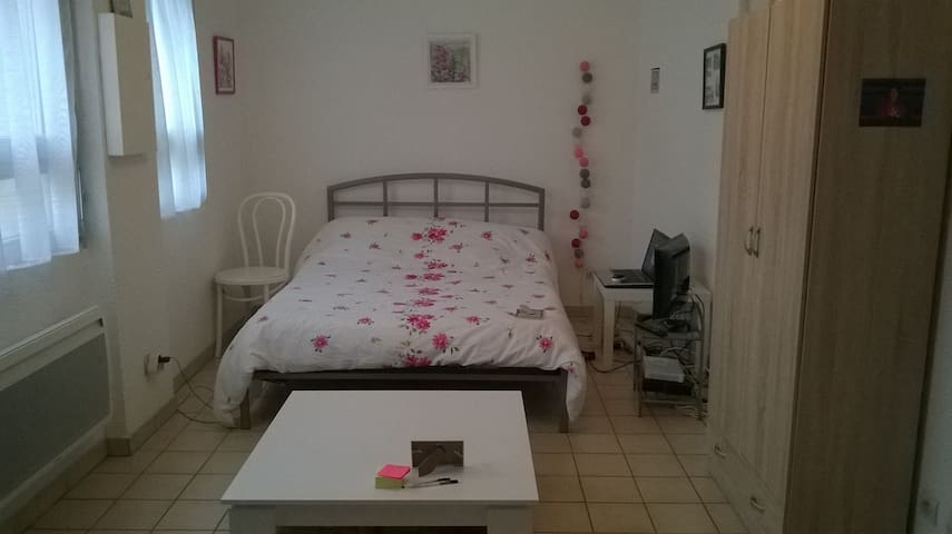 Studio centre ville de Grenoble à 2 pas de la gare - Grenoble - Apartment