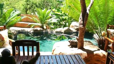 Canyon Guest Villa ....we are self catering...