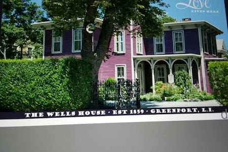 The Wells House circa 1859 Chestnut View