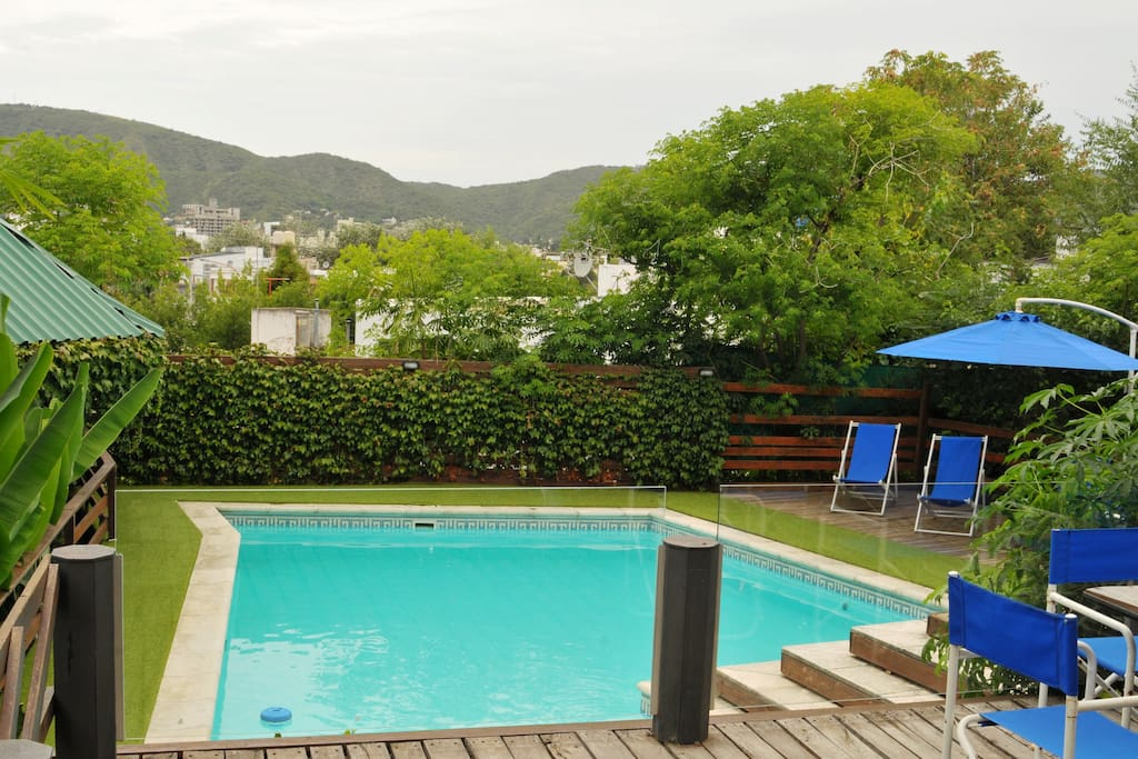 Bungalows Caba A With Climated Swimming Pool Cottages For Rent In Villa Carlos Paz Cordoba