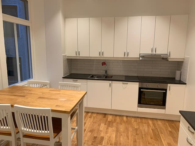 Newly renovated apartment in central Gothenburg