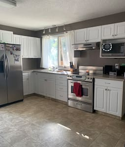 Entire Upstairs 2 Bedroom Home with Fenced Yard