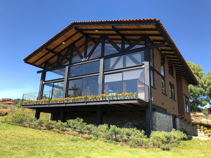 Cabaña para parejas en Tapalpa