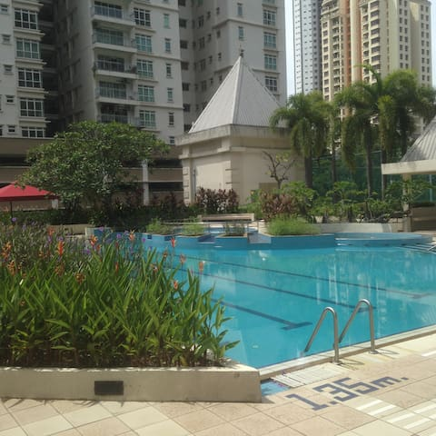 Cities and suburbs feeling, Luxuly condominium - Kuala Lumpur - Appartement en résidence