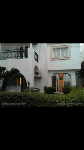Duplex avec jardin à Hammamet Nord - Hammamet - Casa