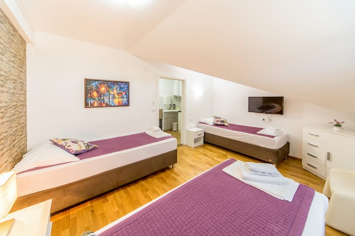 【F Apartments】- Studio with 3 Beds