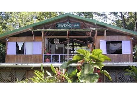 Caribbean Eco Lodge, entire floor max. 8 persons - Playa Chiquita - Boomhut