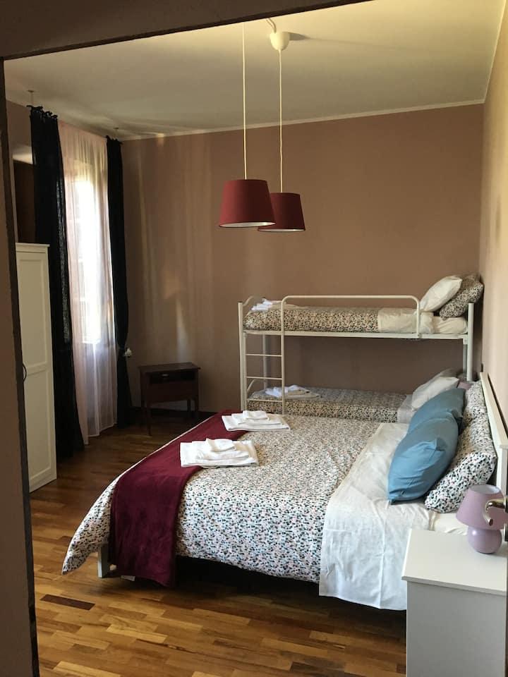 Villa Manto B&B Family Room