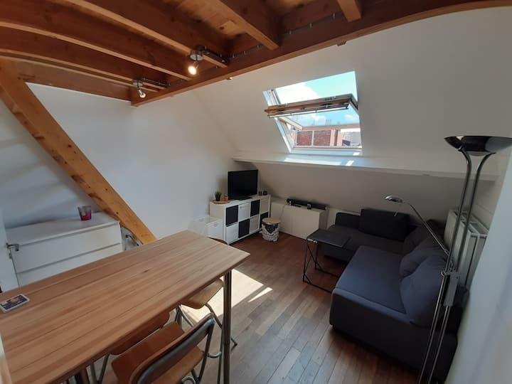 Cosy studio with terrace in the heart of Leuven