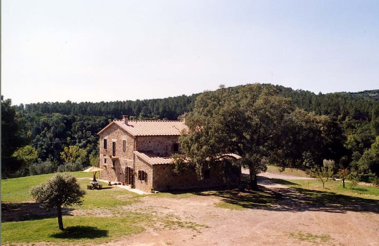Apartment in Farmhouse between Siena and the Sea - Roccastrada